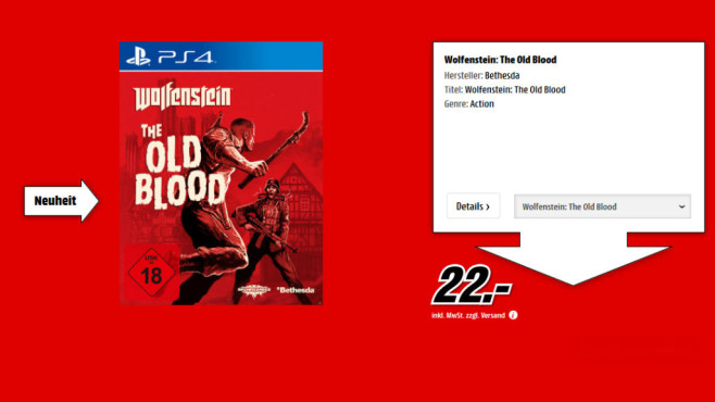 Wolfenstein: The Old Blood © Media Markt