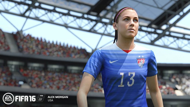 FIFA 16: Alex Morgan © EA