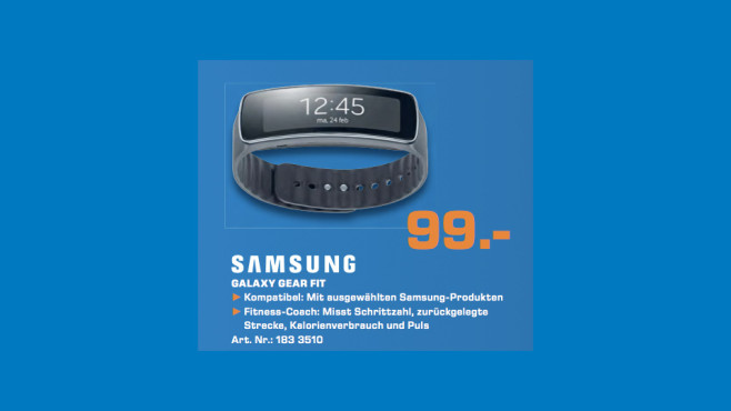 Samsung Gear Fit © Saturn