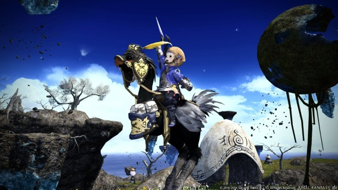 Final Fantasy 14 – Heavensward: Himmel © Square Enix