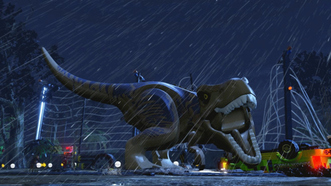 LEGO Jurassic World: T-Rex © Warner Bros. Games