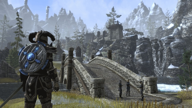 The Elder Scrolls Online – Tamriel Unlimited: Burg © Bethesda