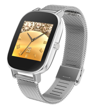 Asus Zenwatch 2 in silber © Asus