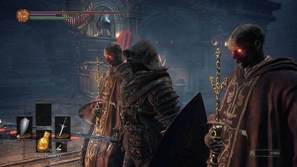 Dark Souls 3: Action-Rollenspiel im Test Deart schaurige Gegner sind keine Seltenheit. ©Bandai Namco