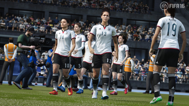 FIFA 16: Frauenteams © Electronic Arts