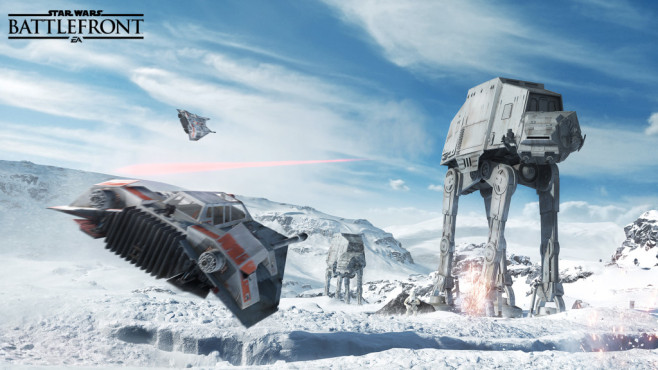 Star Wars – Battlefront: Eisplanet © Electronic Arts