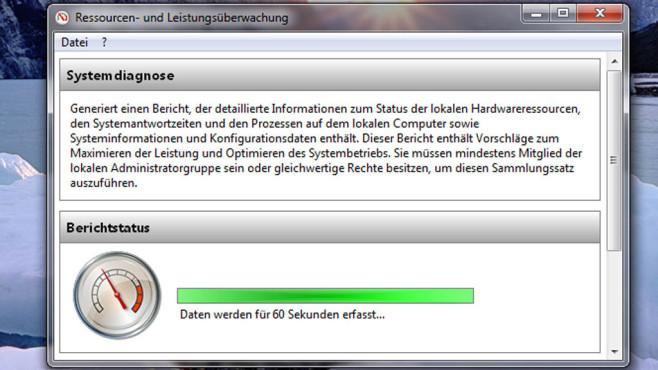 60 Sekunden-Check: Der Systemintegrit�ts-Bericht ©COMPUTER BILD