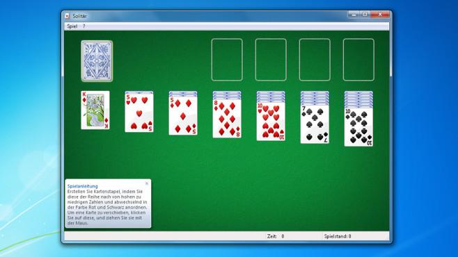 windows 7 spiele solitär download