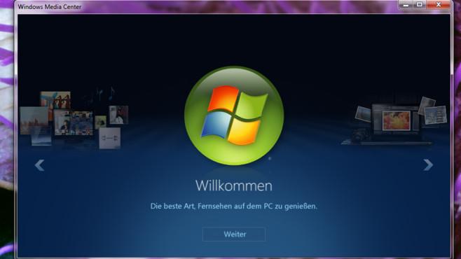 Windows Media Center ©COMPUTER BILD