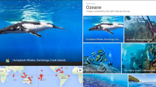 Ozeanpanoramen ©Google