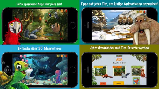 TierweltenApps für Kids ©Apps4kids games