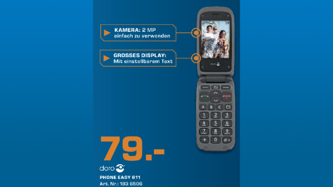 Doro PhoneEasy 611 © Saturn