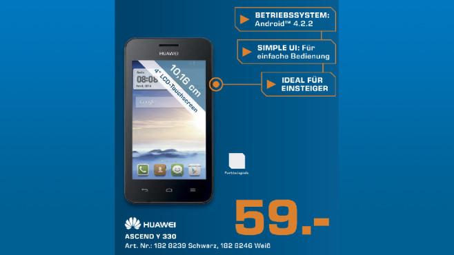 Huawei Ascend Y330 ©Saturn
