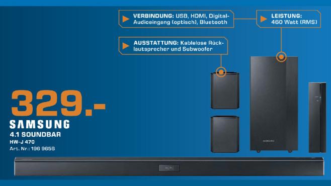 Samsung HW-J470 4.1 ©Saturn