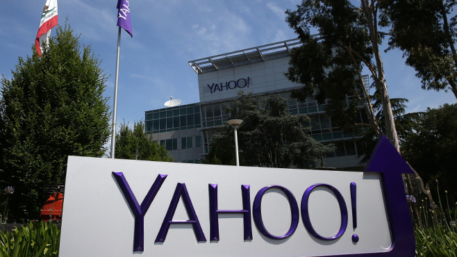Yahoo in Sunnyvale, USA © Justin Sullivan/gettyimages