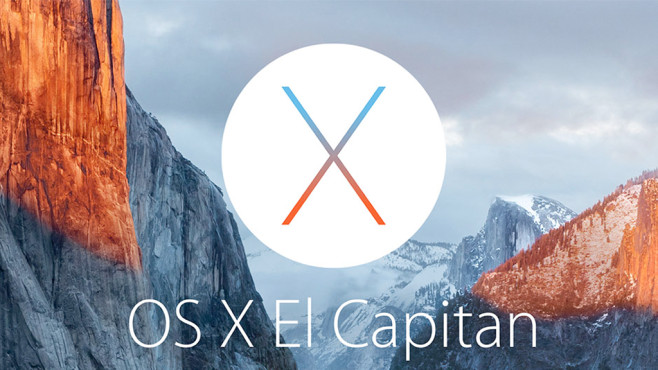 Mac OS X El Capitan © Apple