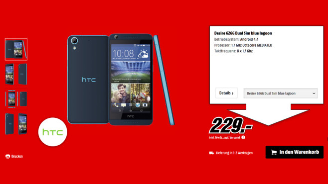 HTC Desire 626G ©Saturn