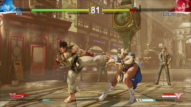 Prügelspiel Street Fighter 5 © Capcom