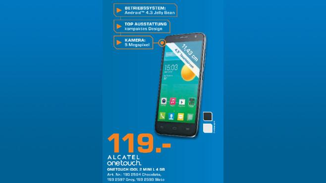Alcatel One Touch Idol 2 Mini L 6014X ©Saturn