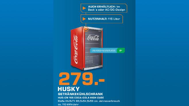 Husky Coca-Cola 130 L ©Saturn
