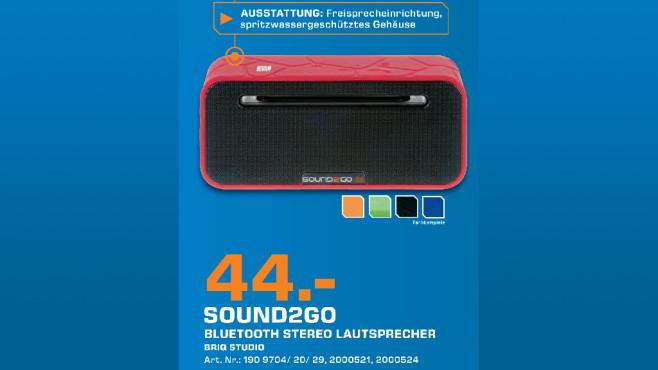 MOBISET Sound2Go Briq Studio ©Saturn