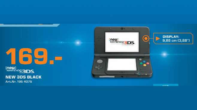 Nintendo New 3DS © Saturn