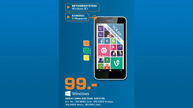 Nokia Lumia 630 Dual SIM ©Saturn