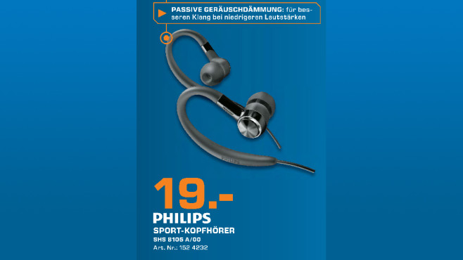 Philips SHS8105 © Saturn