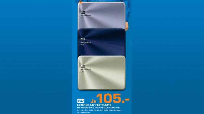 Western Digital My Passport Ultra Metal Edition 2TB ©Saturn
