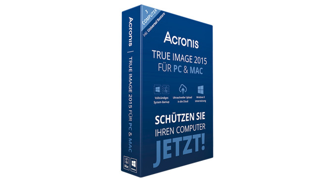 Acronis True Image 2015 © Acronis