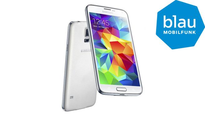 Samsung Galaxy S5 inkl. Tarif von Blau ©Samsung