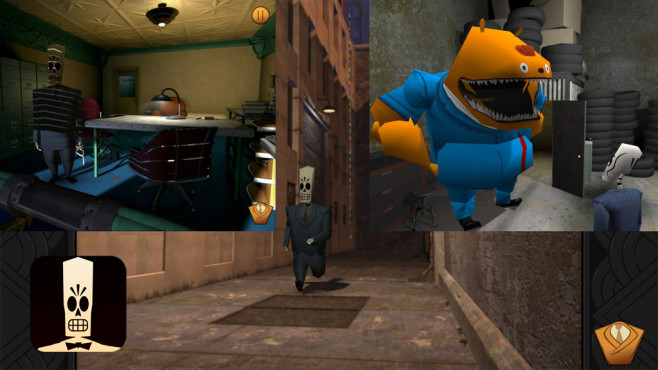 Grim Fandango Remastered © Double Fine Productions