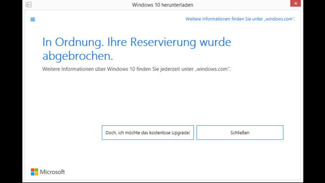 Windows 10 reservieren: So funktioniert's © COMPUTER BILD