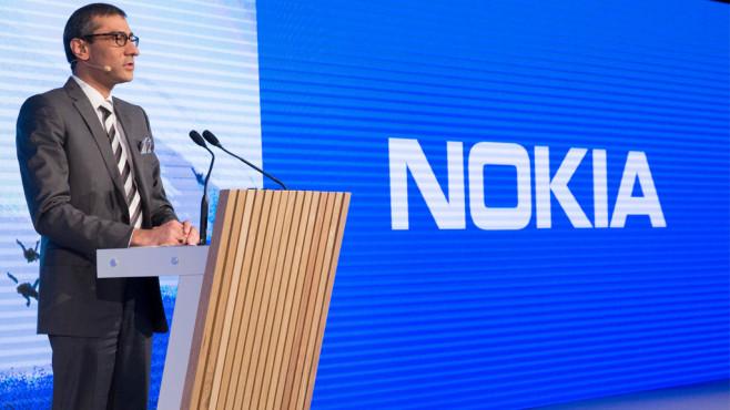 Nokia-Chef Rajeev Suri ©Nokia