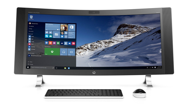 HP Envy Curved © HP