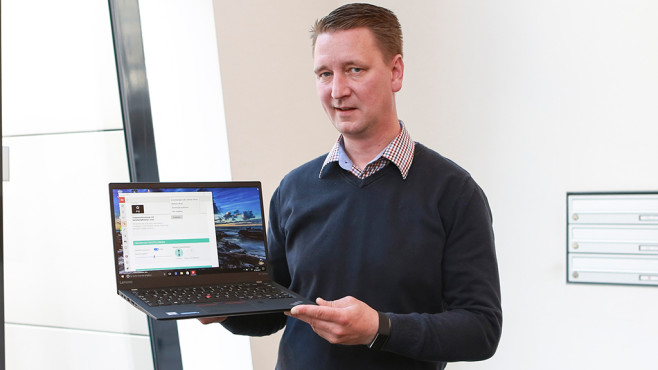 Lenovo ThinkPad X1 Carbon (2017) ©COMPUTER BILD