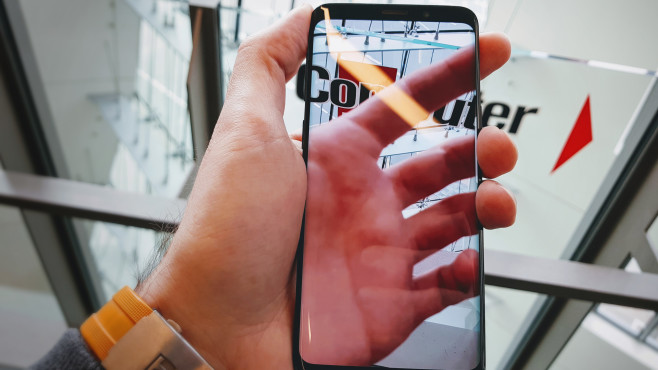 Samsung Galaxy S9 ©COMPUTER BILD/Michael Huch