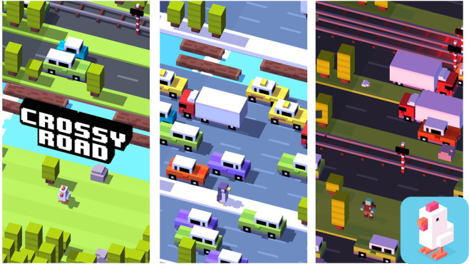 Crossy Road – Endless Arcade Hopper ©Hipster Whale
