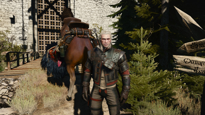 The Witcher 3 © Bandai Namco Entertainment, Nexusmods.com, Rustine