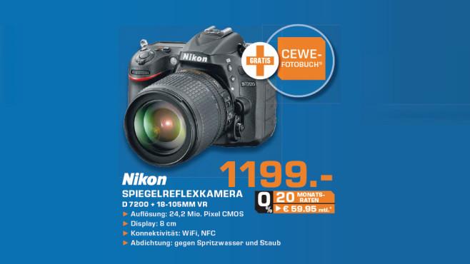 Nikon D7200 Kit 18-105 mm ©Saturn