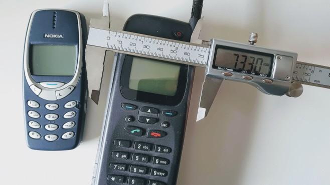Handys im Breitenvergleich©COMPUTER BILD/Michael Huch