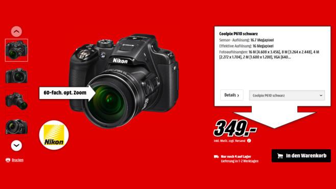 Nikon COOLPIX P610 ©Saturn