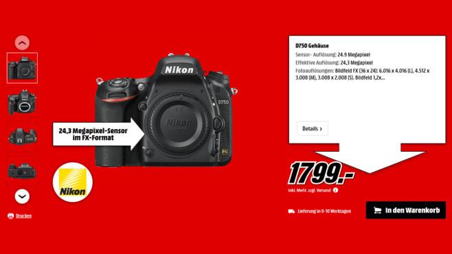 Nikon D750 Body ©Saturn
