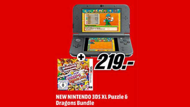 Nintendo New 3DS XL mit Spiel ©Saturn