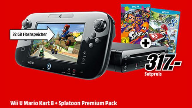 Nintendo Wii U Mario Kart 8 Premium Pack mit Spiel ©Saturn