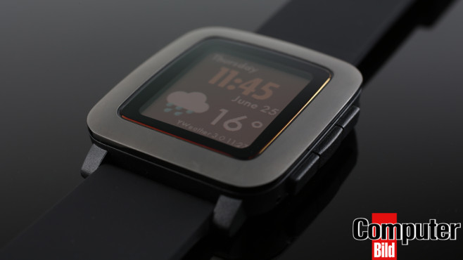 Pebble Time © COMPUTER BILD