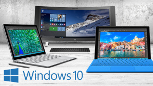 Frische Hardware für Windows 10 ©Microsoft, HP, Fabian Schmidt – Fotolia.com