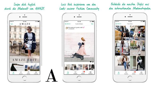 Amaze – Mode & Shopping ©heAmazeApp UG