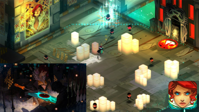Transistor © Supergiant Games LLC