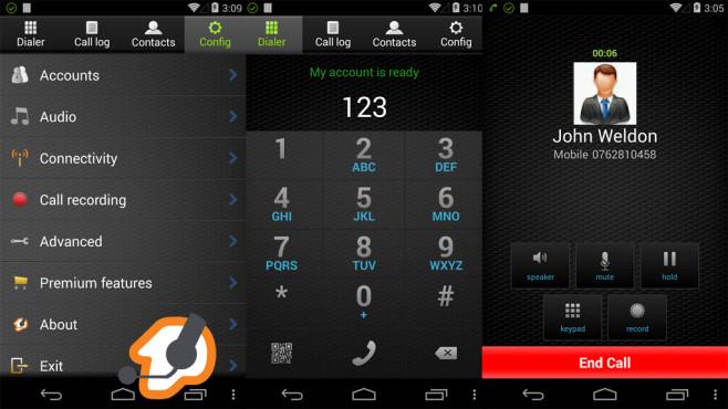 Zoiper IAX SIP VoIP Softphone ©Securax Ltd.